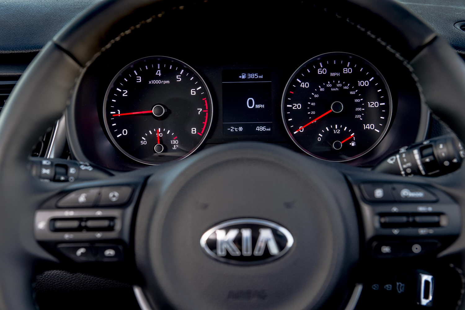 how to change 2017 kia sportage from mph to kmh