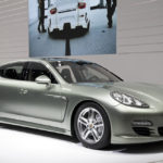 Porsche Panamera hybrid sports sedan