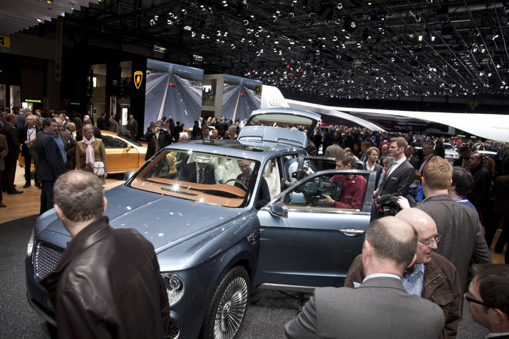 Geneva 2012 - Bentley SUV