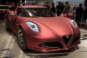Alfa Romeo 4C GTA coupe