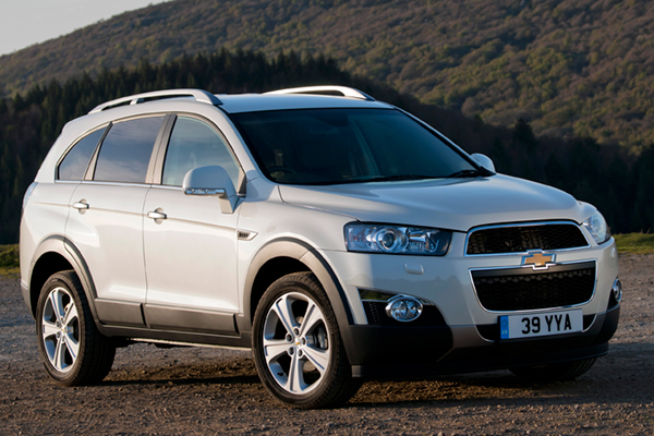 Chevrolet Captiva Review 2011