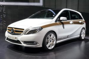 Mercedes Benz Concept B-Class E-CELL PLUS