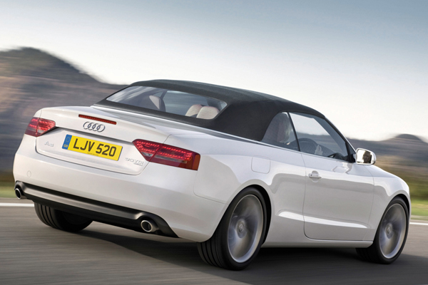 Audi a5 30 tdi convertible review