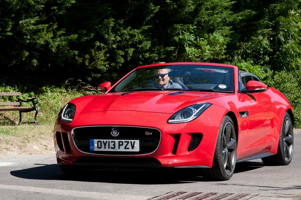 Jaguar F-Type neil Winton Review 2013