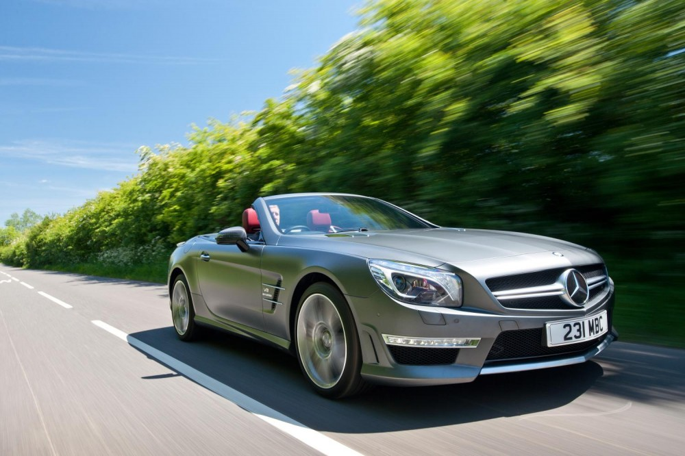 Mercedes Sl 63 Amg Review 2013