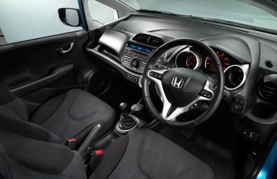 honda jazz 09 car interior design. Black Bedroom Furniture Sets. Home Design Ideas
