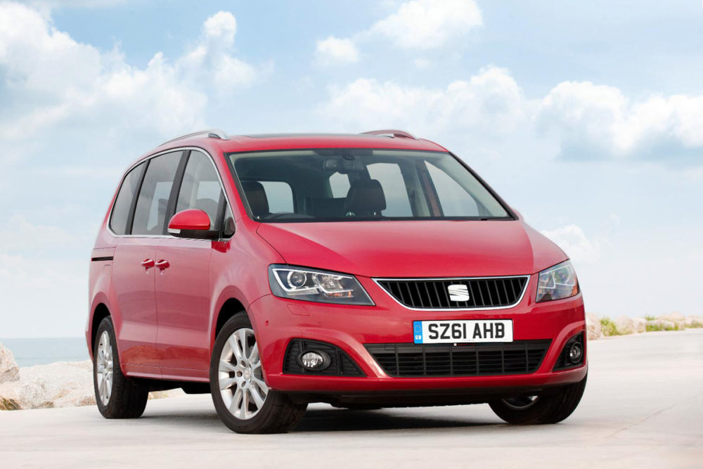 SEAT Alhambra Review 2014