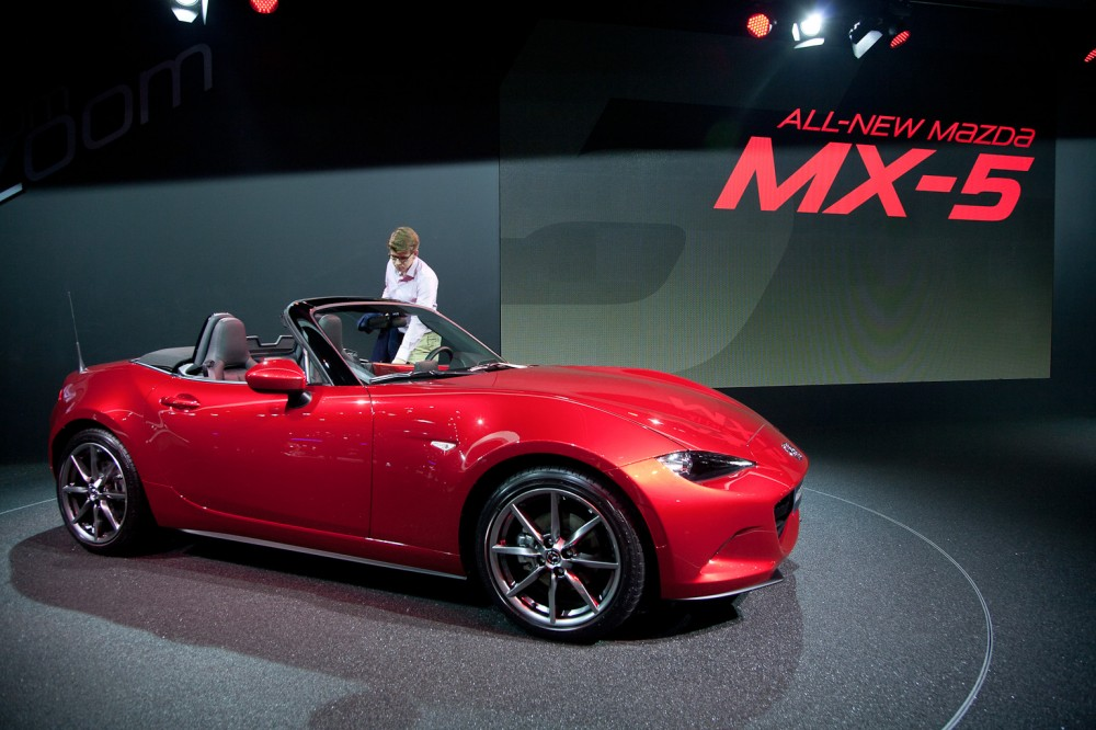 Mazda MX-5 Stars At The Paris Car Show