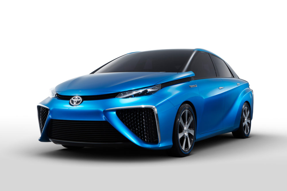 Toyota's Fuel Cell Plans Grab Headlines, But Doubts Mount - Toyota FCV