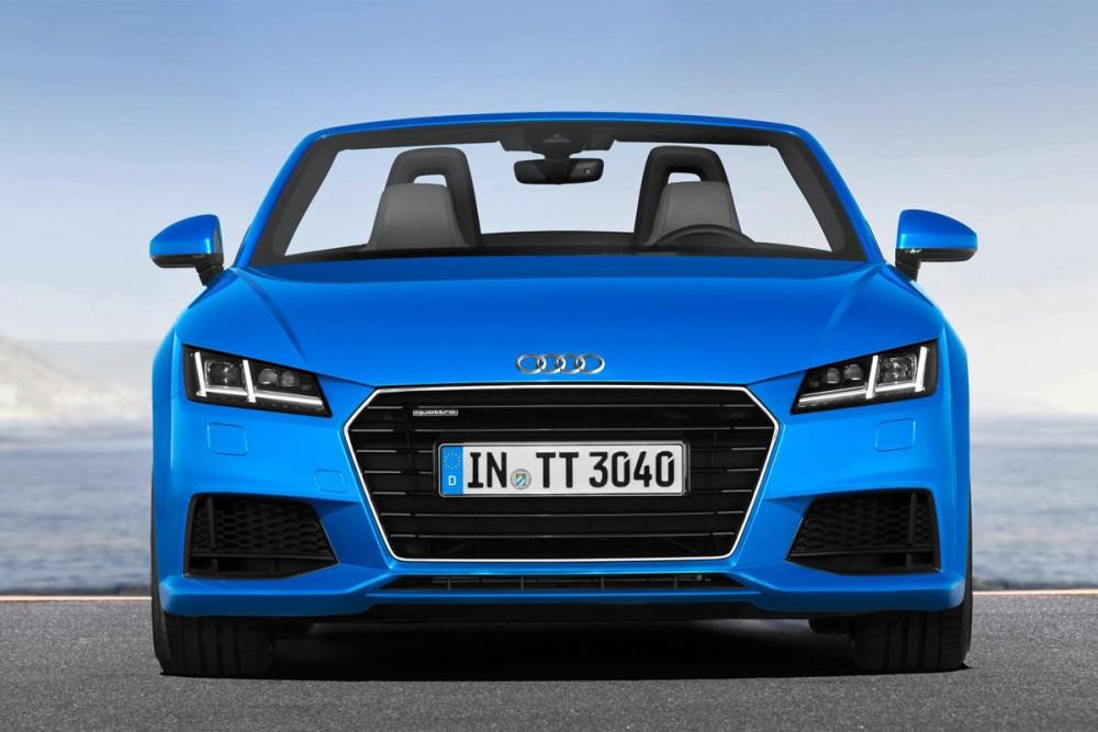 Audi TT Roadster Review 2015