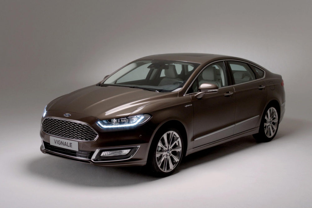 Ford Europe Unveils Its Upmarket Gamble, The Vignale.