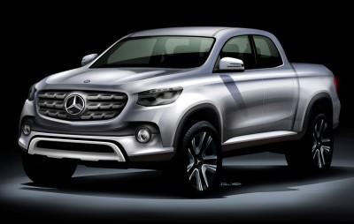 Mercedes-Benz Plans Pickup Truck