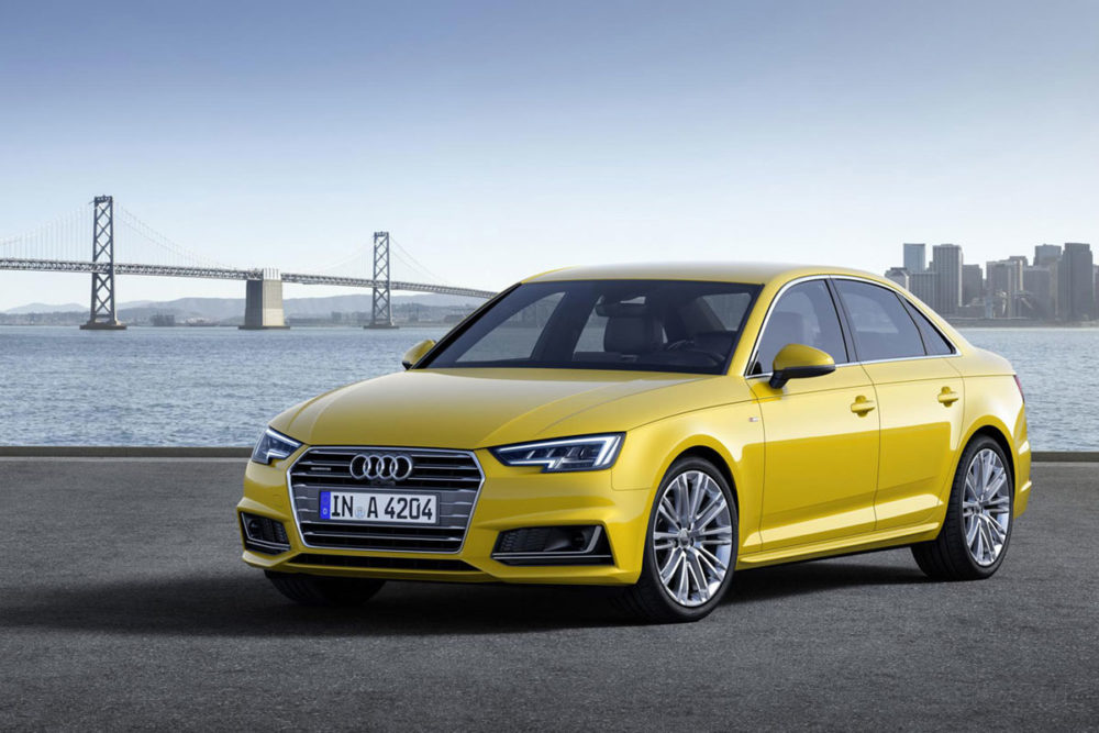 Audi Publishes Pictures Of The New A4