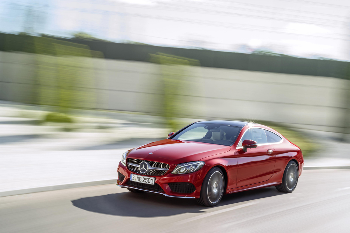 Mercedes benz new c class coupe will challenge bmw 4 for Win a mercedes benz