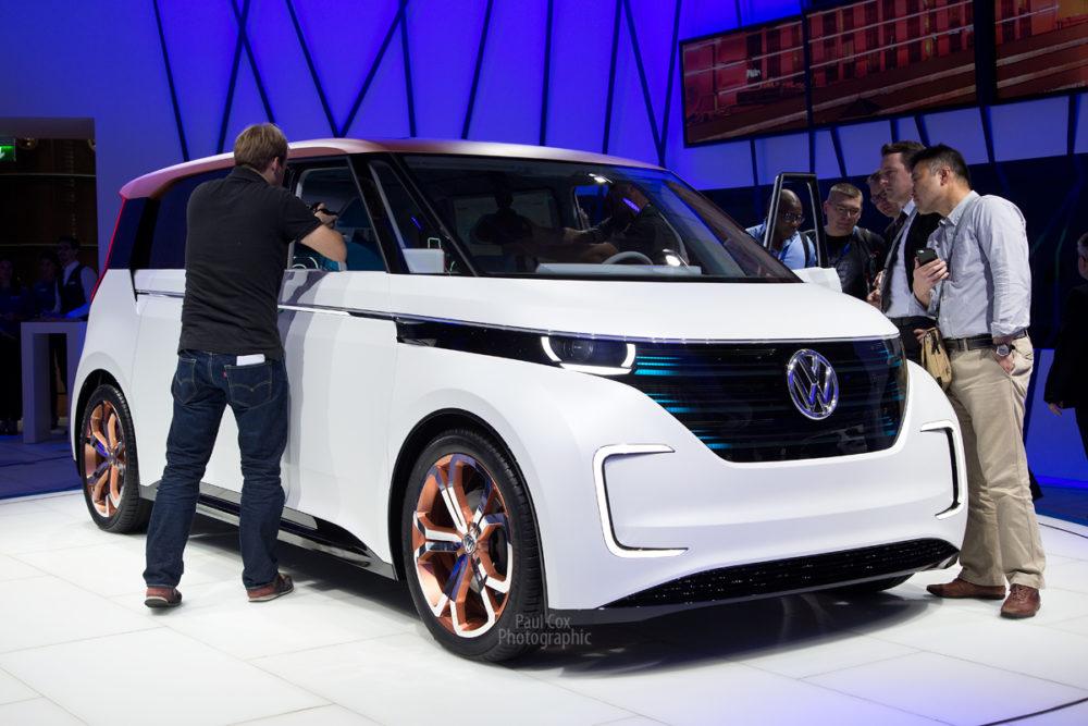 VW Budd.E concept