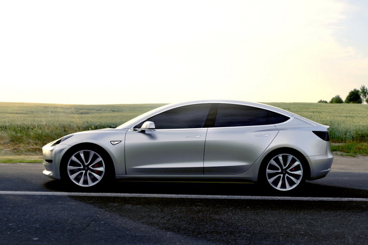 Tesla S Model 3 Joins Small Group Of Pioneering Electric Cars