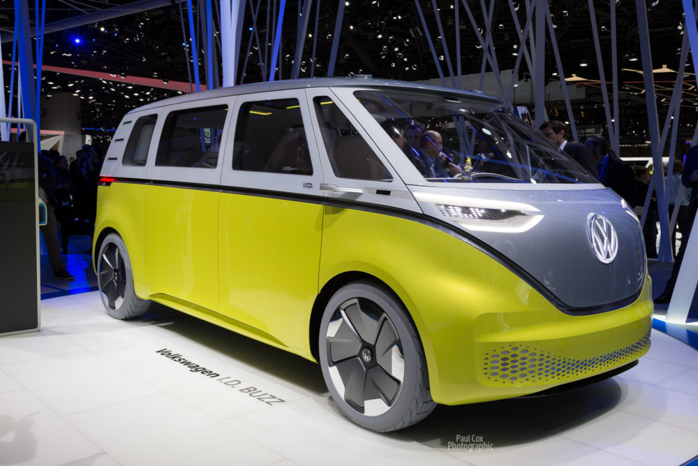 VW I.D. Buzz electric concept