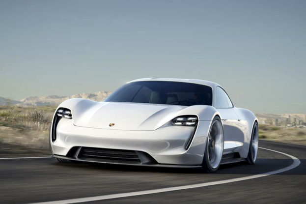 Porsche electric Mission E 600 hp