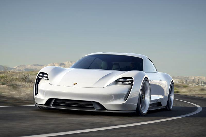 Porsche electric Mission E 600 hp