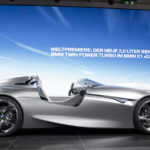 BMW Vision ConnectedDrive roadster;