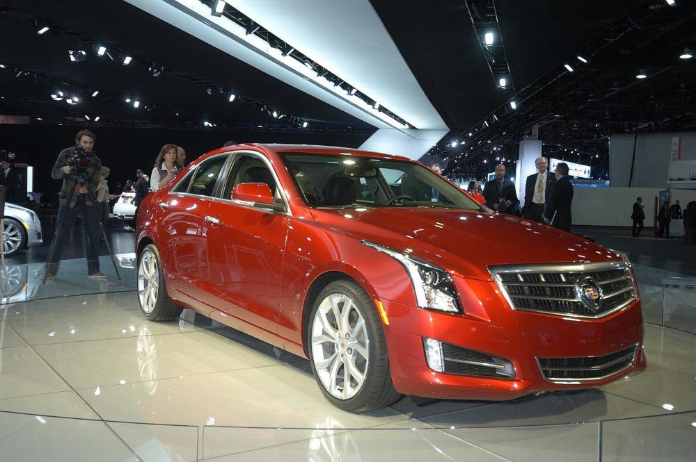 Detroit 2012 Cadillac ATS