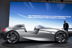 BMW Vision ConnectedDrive roadster