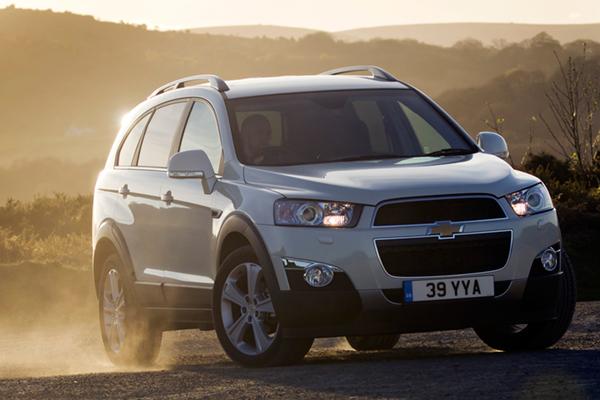 Chevrolet Captiva Review 2011