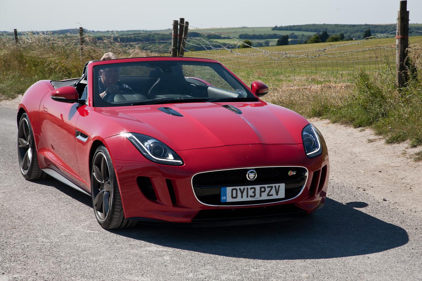 Jaguar F Type Review 2013