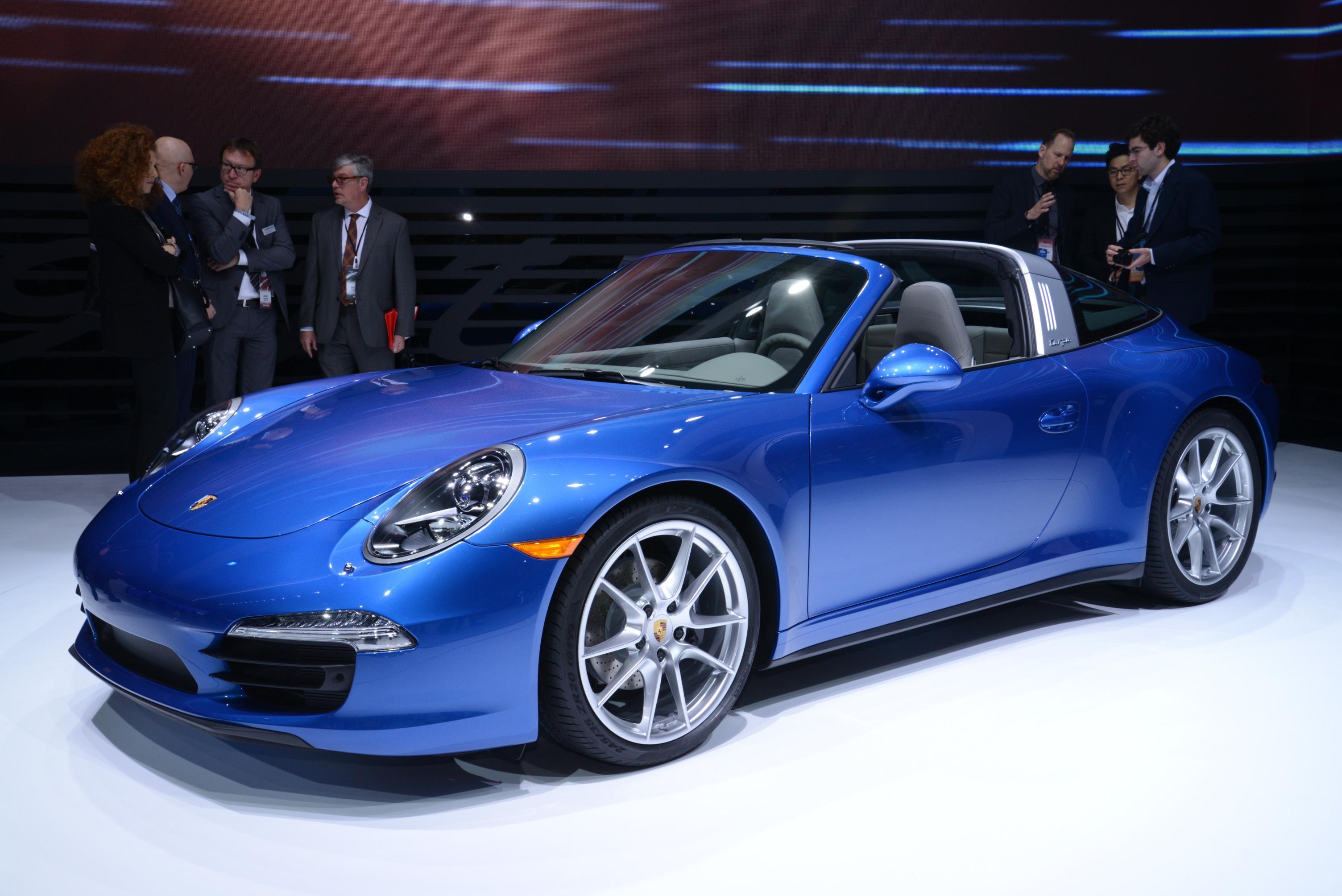 New Porsche 911 Targa Has An Automatic Roof
