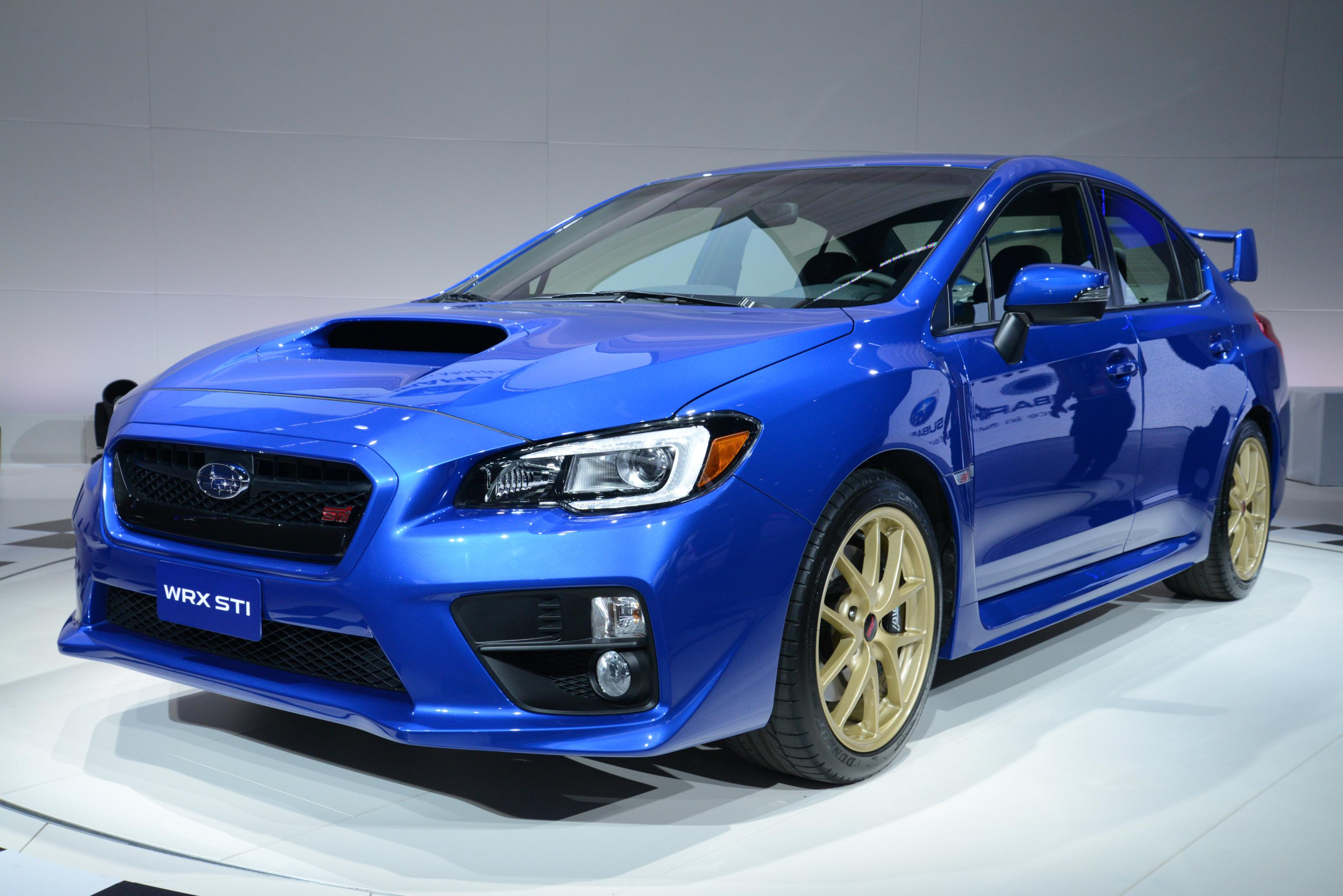 subaru unveils new hotter wrx sti. Black Bedroom Furniture Sets. Home Design Ideas