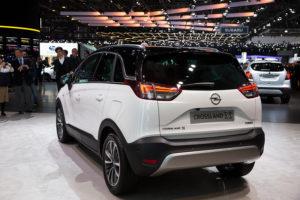 Opel-Vauxhall Crossland
