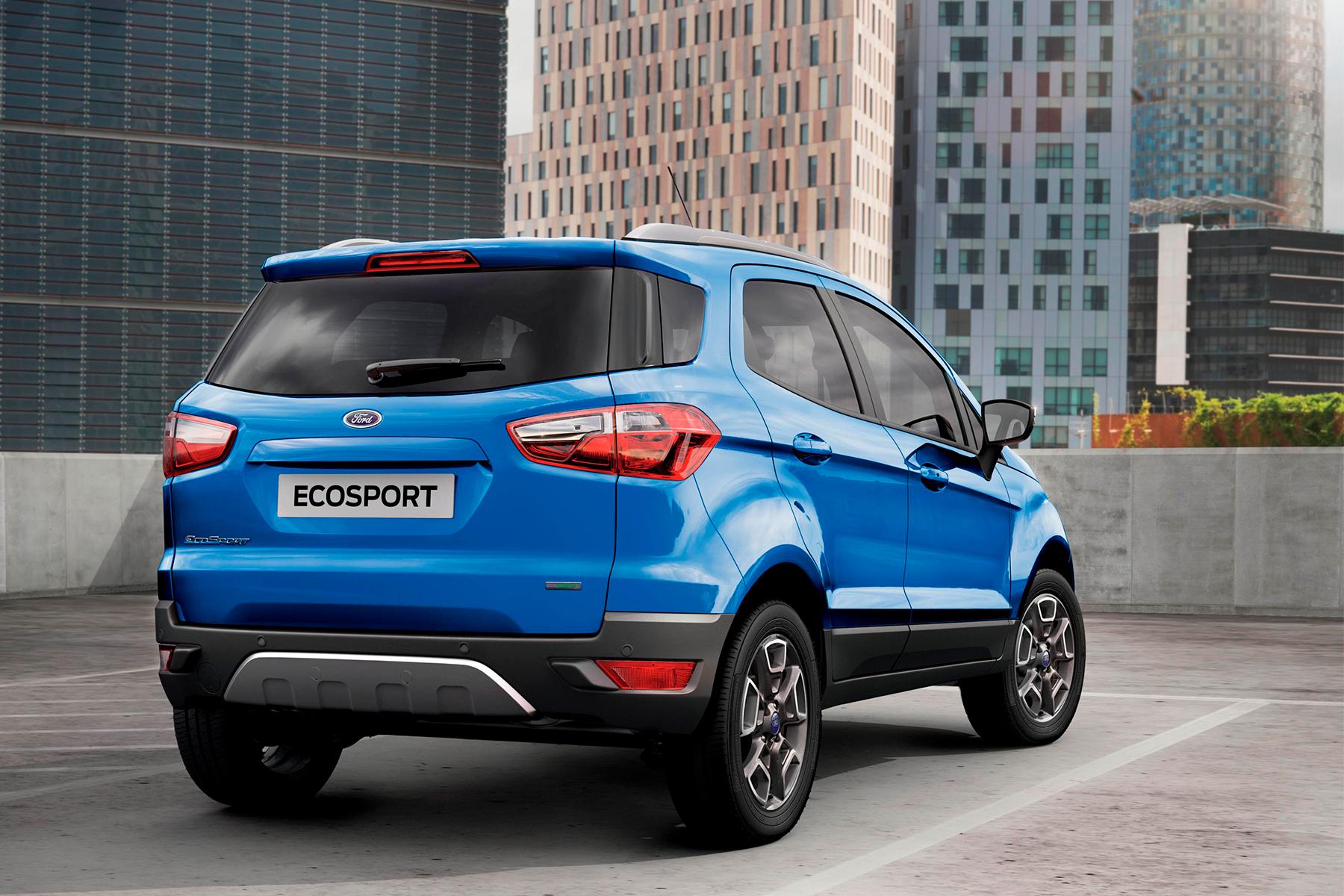 Ford EcoSport Titanium 1 0 EcoBoost Review