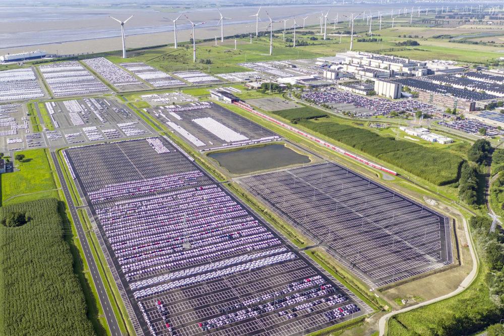 The Volkswagen plant in Emden